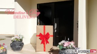Valentine's Day Delivery -Glory hole gift with Blair Williams