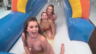 Girling - Riley Reid, Piper Perry, Abella Danger, and Friends Nude Sliding