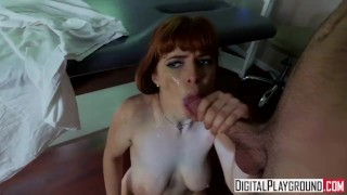 The X Files A XXX Parody-Sexy Ginger Penny Pax gets fucked in the hospital Young sister