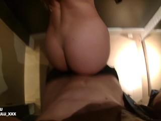 FULL VIDEO Public fuck in Paris, blowjob and cumshot - horny couple leolulu