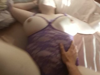 Fucking My Wife's Phat Ass Until I Cum All Over It