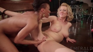 Nikki seduced darling bartender torn stripper by cherry big fisting