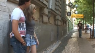 18videoz - Sex for cash turns shy girl into a slut Bgicock petite