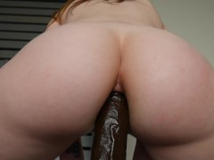 Ashley Alban - A bbc in Ashs ass