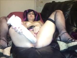 Dick Rambone huge dildo fucking