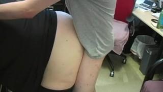 Dennis Fucks The Boss Edging cock