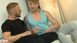 Ginger studs take turns flip flopping