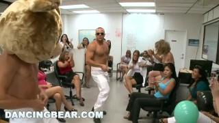 DANCINGBEAR Birthday party crashed by Dancing Bear (db6106)
