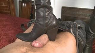 mistress-T like boots job