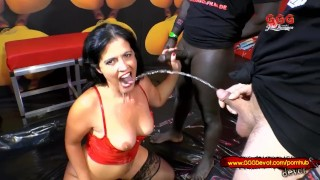 Help! My mother is a Pissing whore - GGG Devot