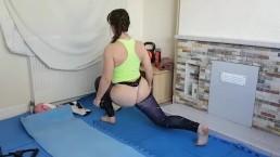 Little Abbie Workout Yoga Tease Trailer