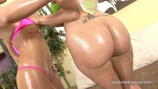 BACKSIDE Serious Big Booty PAWGS and Oiled Asses