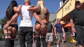 SinsLife - Crazy Vegas 3 Some Dual CreamPie Fuck Fest!