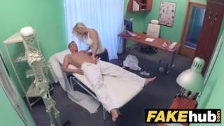 Hospital big horny tits chiropractor doctor fake fucks massage milf after sex natural