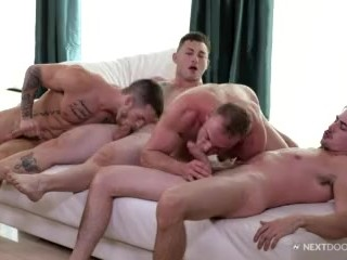 Quentin Gainz Surprises BF with Foursome!