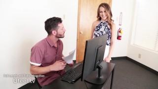 Interactive - Secretary Dillion Harper Gets Plowed by Coworker