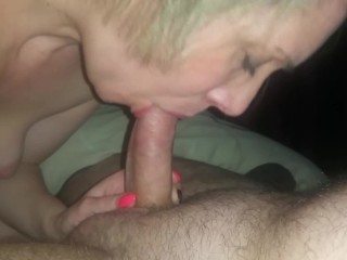 Horny 40 year old suck cock to clean