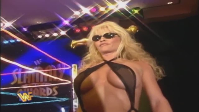 Wife in bikini contest - Wwf slammy awards 1997 - bikini contest
