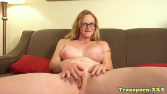 Post Op Mature Trans Toying Her New Pussy - Pornhubcom-2260