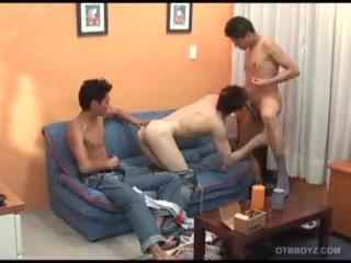 Latin Twink Gay Sex Orgy