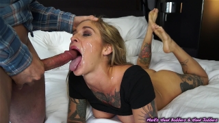 Outwitted alternative for at holes go slut her a throat face