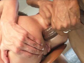 Young Busty Teen Kelly Divine Puts Monster Black Cock In Her Ass