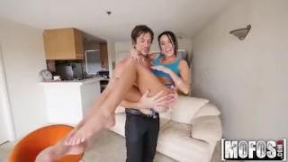 Mofos - Megan Rain's Pussy Gets Nailed