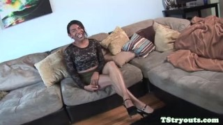 Mexian tgirl firsttime cocksucking on camera Fetish amateur