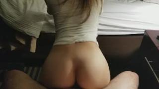 Beautiful College Teen Ass Riding Hard Dick Rough fisting