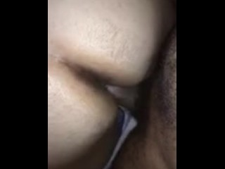 Amazing bbw loud moans on bbc (slow motion)