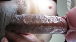 fucking pink fleshlight again with prostate massage