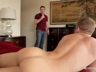 NextDoor Twink Waits Naked for Hot Teacher