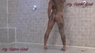 Black Widow Shower Fun porno