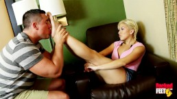Fucked Feet! Amazing Asian Cristi Ann Gives Hot Footjob To Completion!