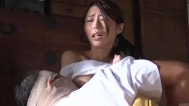 〔三十路〕お前の白く大きな乳房がオレを興奮させるんだぁ~!
