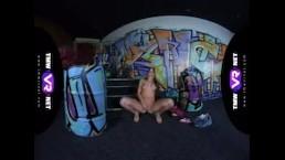 TmwVRnet.com - Lita Phoenix - Crazy masturbation in club