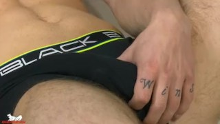 Koby Lewis shows off his ripped abs Bbc ghetto