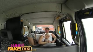 Female Fake Taxi Stud covers sexy drivers big tits in cum Bust slut