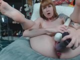 Buttplug while Dragon Fucking and Hitachi Torture