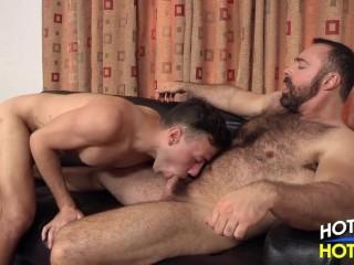 Muscle Dad Brad_Kalvo_and_Blake_Stone