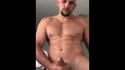 Big dick solo masturbation