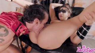 Twistys Hard - Trick or treat xxx scene with Abella Danger Milf cuckold
