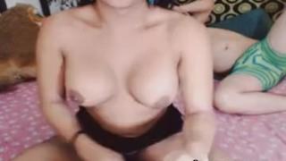 Nasty Couple Tranny Babe Having Great Anal Sex Interracial big