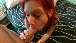 Tiny pale slut gets anally abused and swallows cum Dp bbc