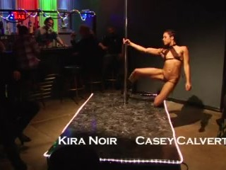 Kira Noir Kinky Fantasy Club Strip Preview