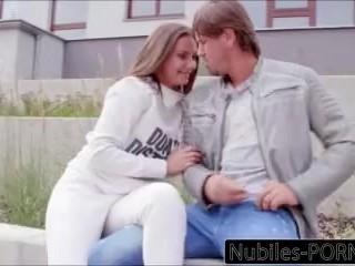 Nubiles-Porn College Babe Fucks Stranger And Swallows