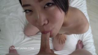 Mao's Flaccid Blow Job Challenge - Covert Japan