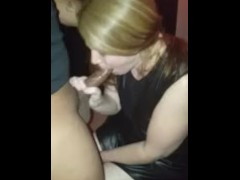 BBC requested blowjob outside of the Gloryhole