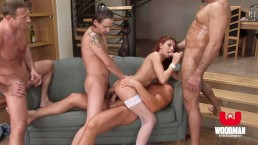 Very Young Teen Cum Slut Gets Rough Anal Gangbang