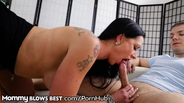 MommyBlowsBest German Stepmom is in Charge! 8